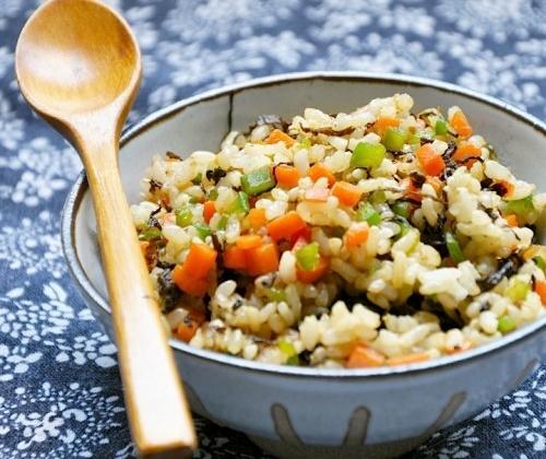 梅菜糙米炒饭