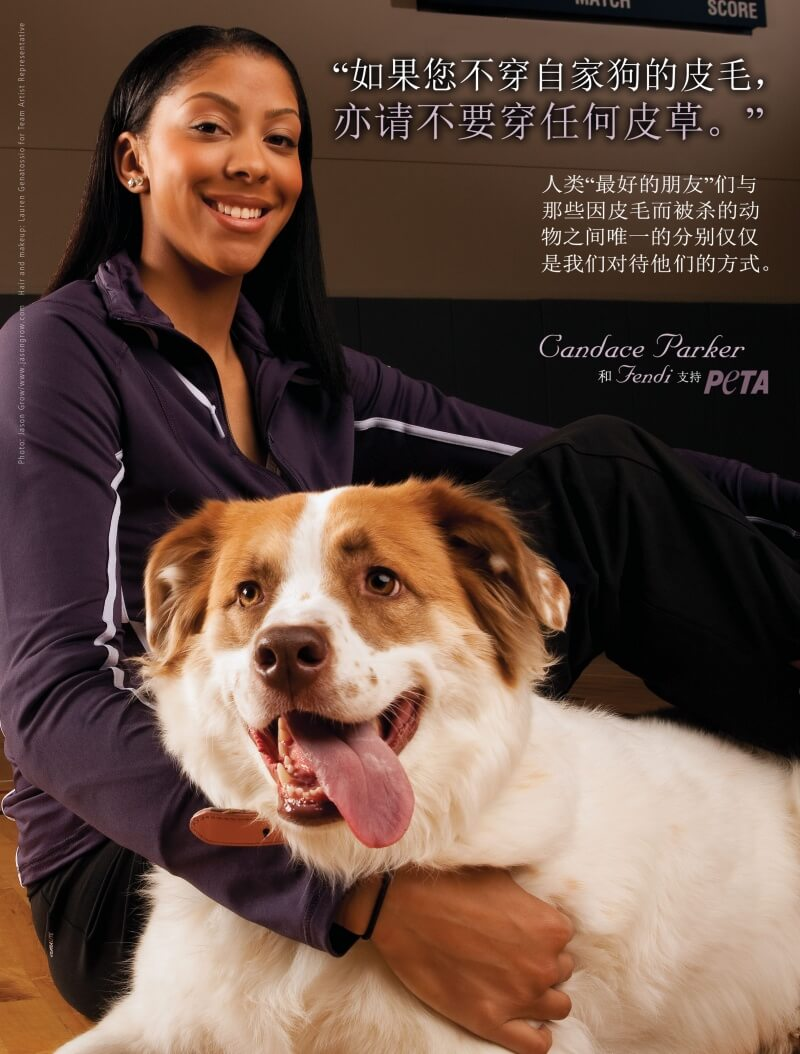 Candace Parker- If You Wouldn't Wear Your Dog, PAP SC- 300
