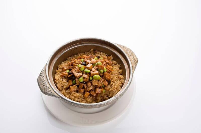 Eight Delicacies & Taro Rice