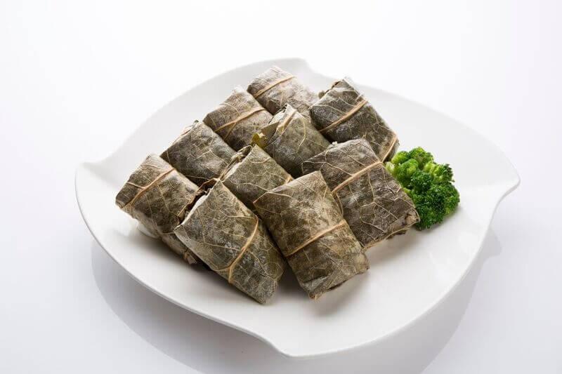 Lotus Leaf Sticky Rice Roll