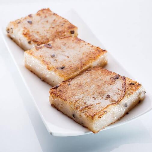 Pan Fried Trunip Cake