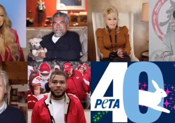 眾星雲集祝賀PETA成立40週年